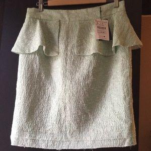 Zara skirt light tweed